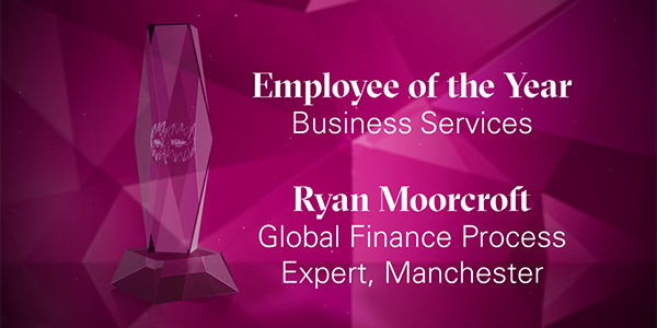 Employee of the Year Business Services