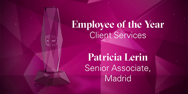 Employee of the Year - Client Services