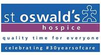 St Oswald's Hospice. Quality time for everyone. Celebrating #30YearsofCare